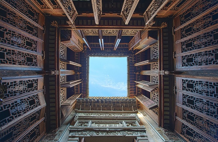 中式天井-全国重点文物保护单位