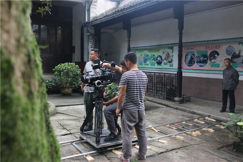 央视大型纪录片《百年金融》在南浔古镇拍摄